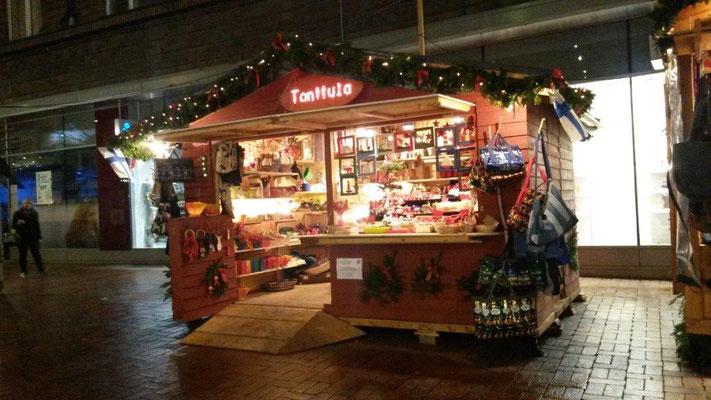 Tonttula Wichtelstube auf dem Weihnachtsmarkt