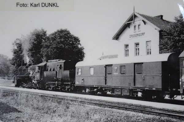 Postwagen in Drosendorf