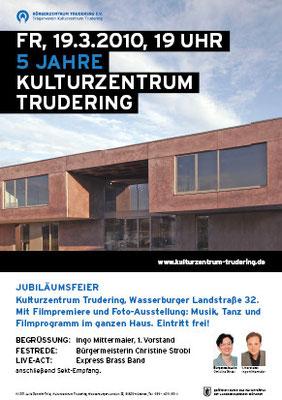 Plakat - 5 Jahre Kulturzentrum Trudering
