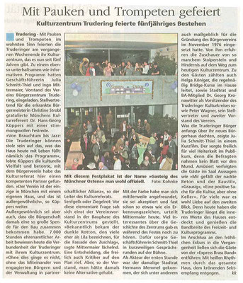 Mit Pauken und Tropeten -  24.03.2010