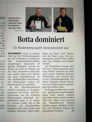 Schaumburger Nachrichten vom 19.03.2019