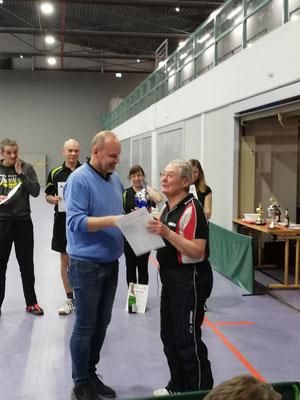 Erfahrung hat sich durchgesetzt, Ilse Köhler ist Vereinsmeisterin 2020