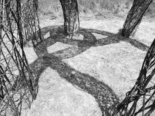 """""""Entrelacs"""", installation à 6 mains. Photo Myriam Roux"""