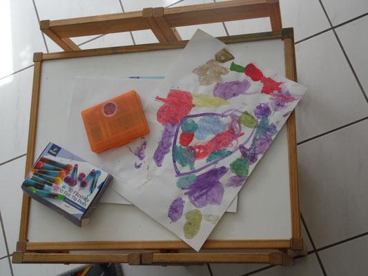 genügend Platz für kleine Künstler
