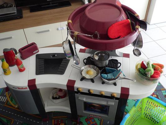 Auch die Kleinen kochen mit