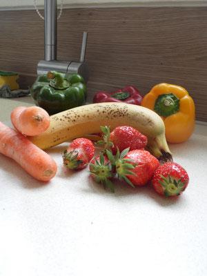Gesunde Ernährung ist mir sehr wichtig