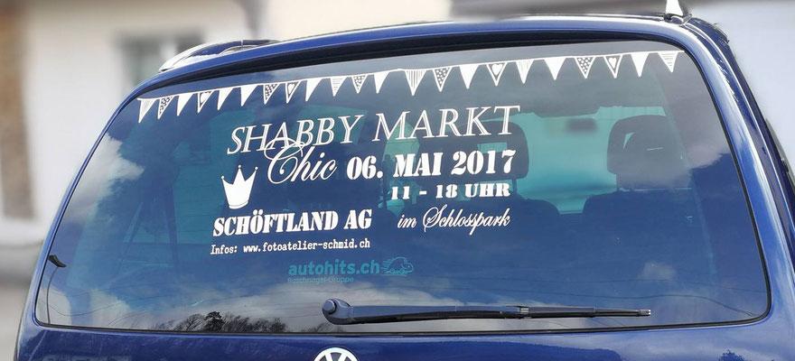 Shabby Chic Markt Schöftland vom 06.05.2017 - Das Auto ist ...