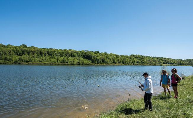 Pesca y lago Vic-Bilh Madiran