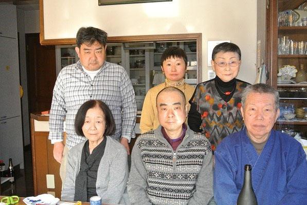山口さんのお母さんとお兄さんを迎えて