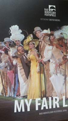 My Fair Lady, Bad Hersfelder Festspiele 2016/2017 - Programmheft