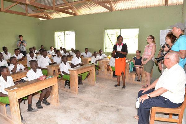 Unterricht in einer Klasse