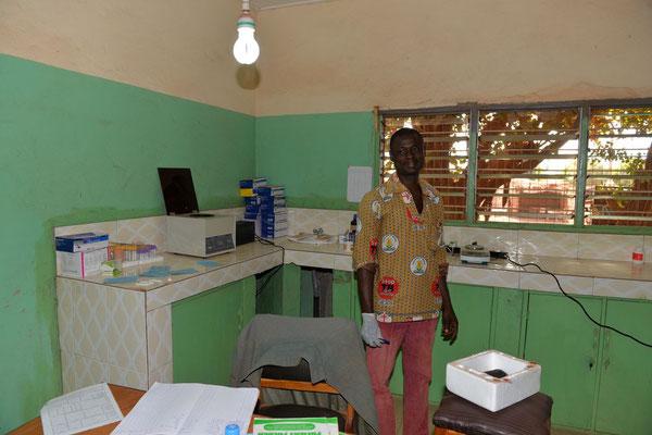 Die Innenausstattung der Sankt Joseph`s Clinik in Chamba