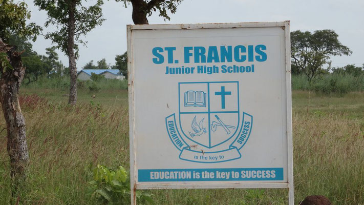 Tafel der Sankt Francis Junior High School