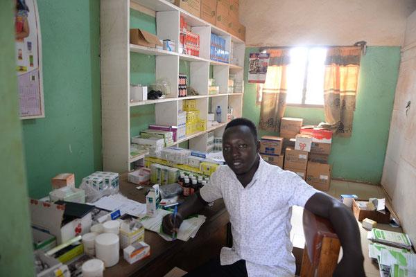 Mitarbeiter der Sankt Joseph`s Clinik in Chamba