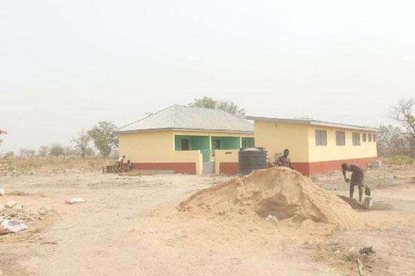 Das Bubenwohnheim wird fertig