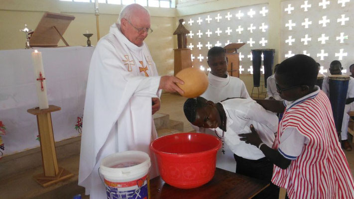 Feier der Taufe