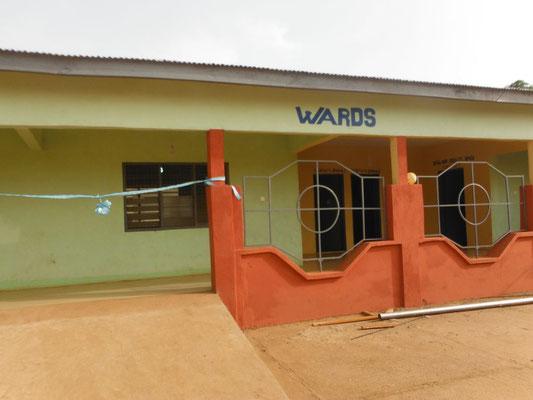 Der Erweiterungsbau wurde 2018/2019 fertiggestellt