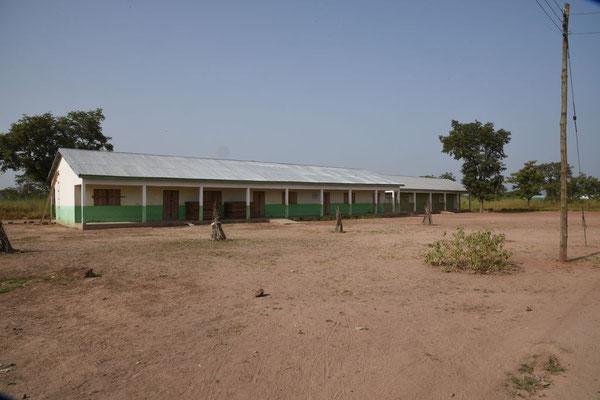 Und noch ein Blick auf die Gebäude der Junior High School