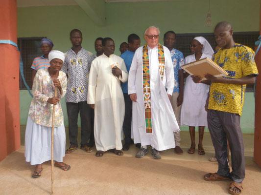 Der Erweiterungsbau wurde 2019 fertiggestellt und durch Pfarrer Josef Renner eingeweiht