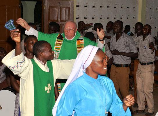 Tanz beim Gottesdienst