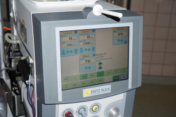 Eine Phakomaschine für die Operation des grauen Stars
