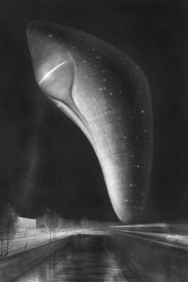 Das Ei des Kolumbus 1 / Mischtechnik / 105 cm x 75 cm / 2018