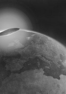 Das Ei des Kolumbus 4 / Mischtechnik / 105 cm x 75 cm / 2018