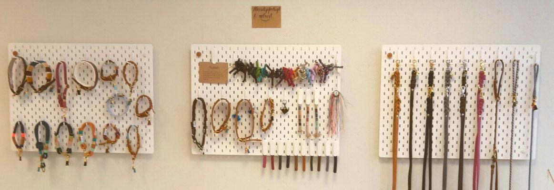 Stellen Sie sich Ihr individuelles Halsband oder Leine zusammen - ganz nach Ihren Wünschen angefertigt!