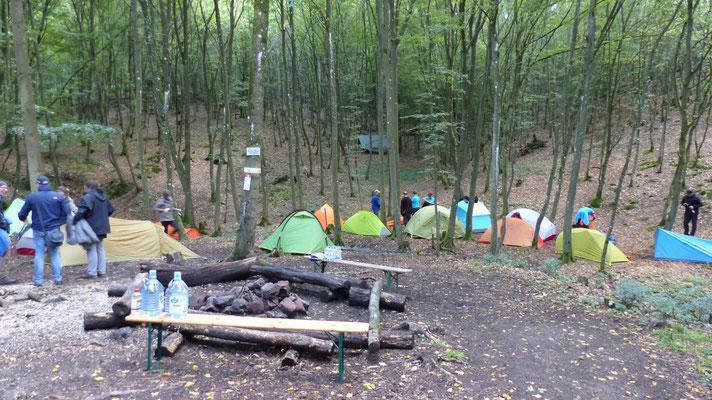 Der Trekkingplatz Imsbach