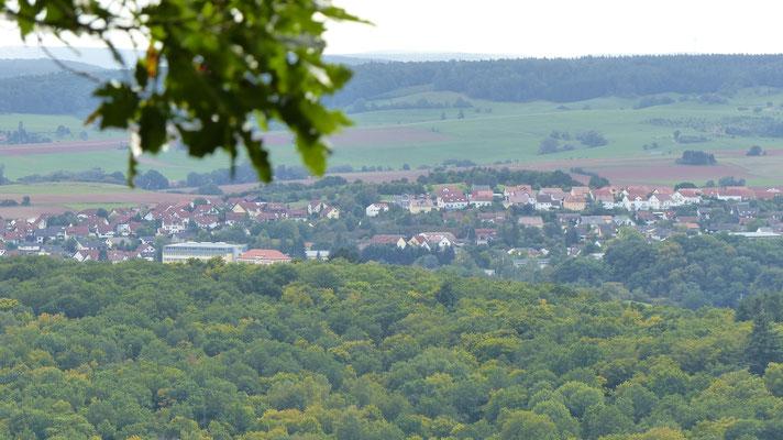 Von der Kupferberg Hütte aus gesehen