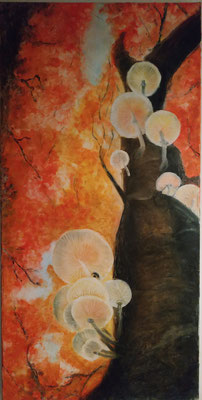 Fairy-Mushroom-Tree: 100x50x4