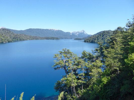 An der Ruta de siete lagos
