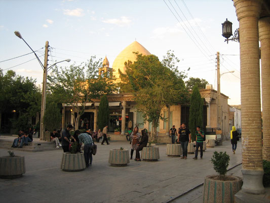 Straßenszene im Armenischen Viertel
