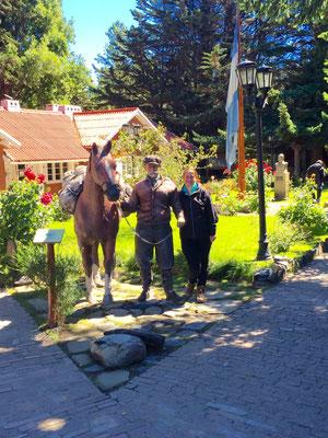 Pferd, Gaucho und Gaucha