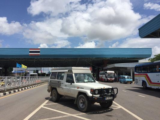 Geschafft! Toyo in Thailand (Schmids auch)