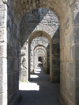Stützkonstruktion für Tempel