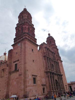 Die Kathedrale von Zacatecas: Höhepunkt des mexikanischen Churriguerismus