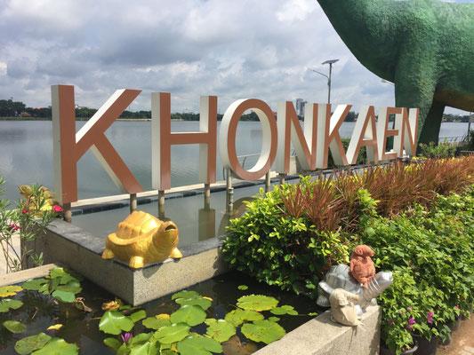 Khon Kaen liegt am Bueng Kaen Nakhon
