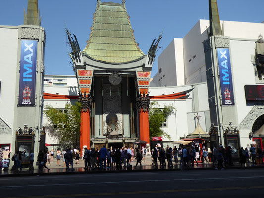 The famous TCL Chinese Theatre