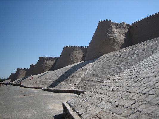 Außenmauer der Itchan-Kala (Altstadt von Xiva)