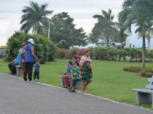 Indigene Bevölkerung gibt es auch