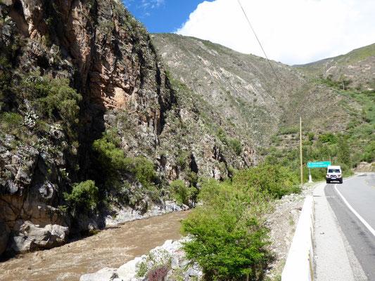 Entlang des Río Urubamba