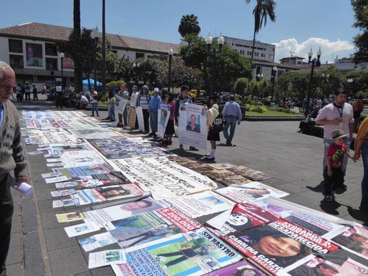 Auch in Ecuador verschwinden Menschen unfreiwillig