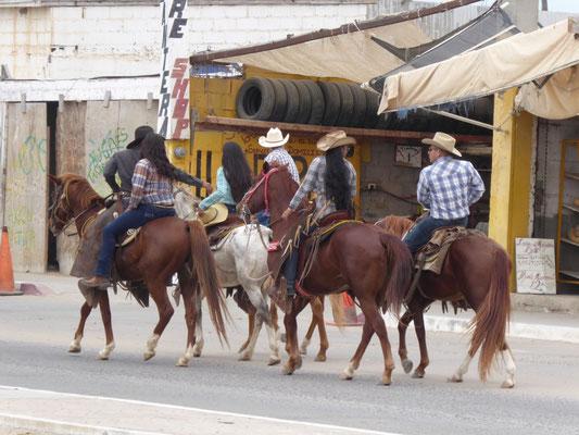 Sonntag in Guerrero Negro