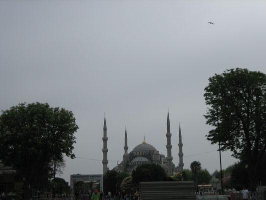Blaue (oder Sultanahmed) Moschee