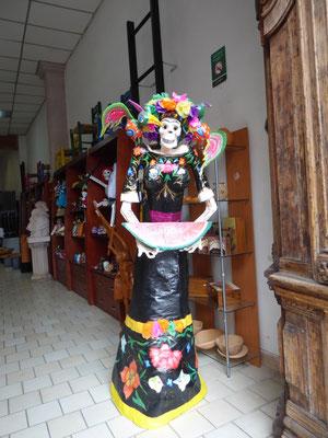 Der Día de los Muertos (wichtigster mexikanischer Feiertag) wirft seine Schatten voraus