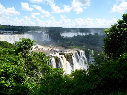 Blick von der brasilianischen Seite