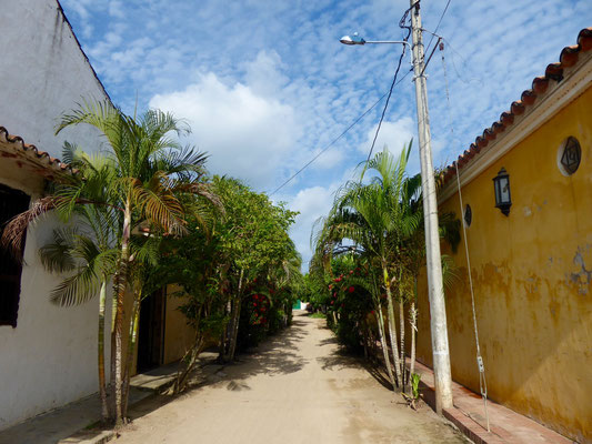 Gasse in Mompox
