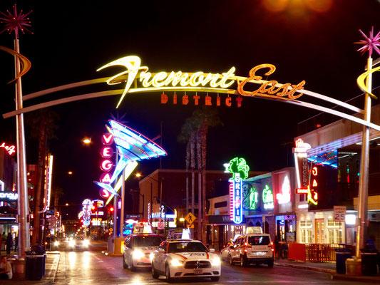 Berühmte Fremont Street