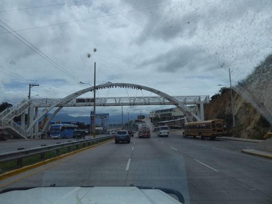 Willkommen in Tegucigalpa!
